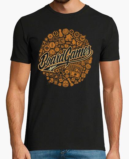 Tee-shirt addict jeux de société