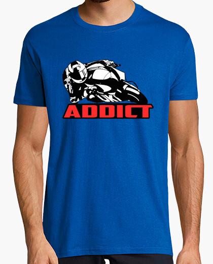 Tee-shirt Addict motorcycle
