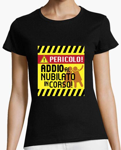 T-shirt addio a nubilato in corso!
