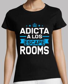 Adicta a los Escape Rooms | Escape Room camiseta