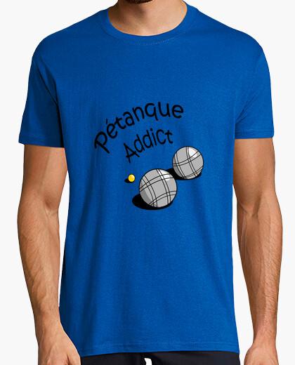 Camiseta adicto a la petanca
