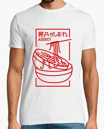 Camiseta adicto al ramen