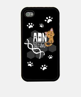 ADN GATUNO - Funda Iphone 4/4S