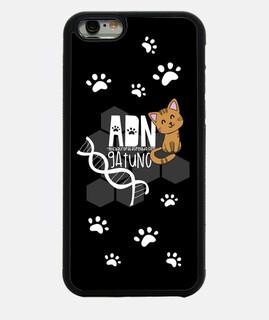 ADN gatuno - Funda Iphone 6 negra