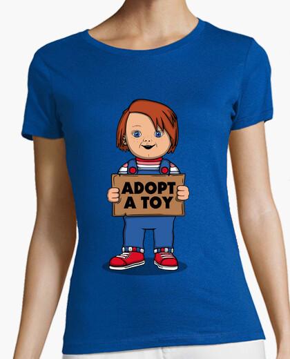 Camiseta Adopt a toy