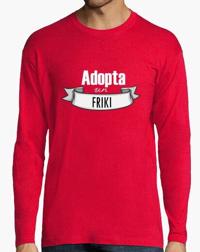 Camiseta Adopta un friki