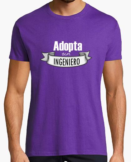 Camiseta Adopta un ingeniero