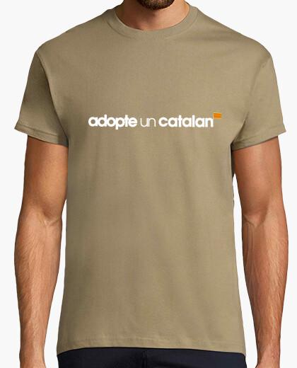 Camiseta adoptar un catalán