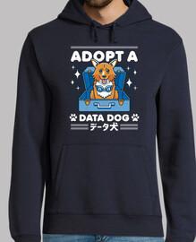 adoptar un perro de datos