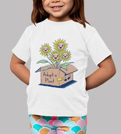 adoptar una planta