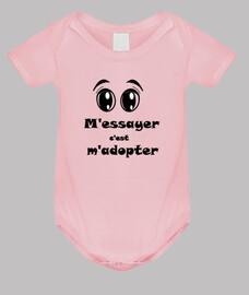 adopte ropa para bebés de tratar los ojos encima fb