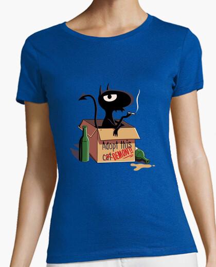 Tee-shirt adopter un chat