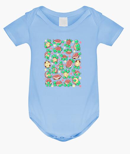 Ropa infantil adorable patrón de tortuga
