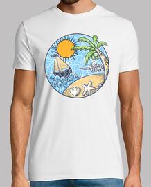 adorno de playa