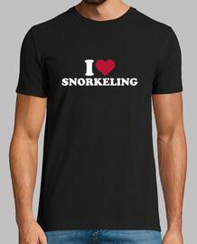 adoro fare snorkeling