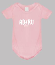 ADRV, Rayo Vallecano, Rayo, Fútbol, Vallecas, Body bebé, rosa