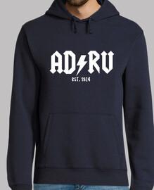 ADRV, Rayo Vallecano, Rayo, Fútbol, Vallecas, Hombre, jersey con capucha, azul marino