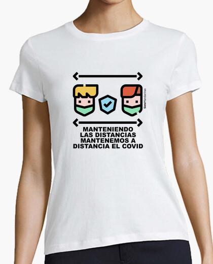 Camiseta Adulto distancias