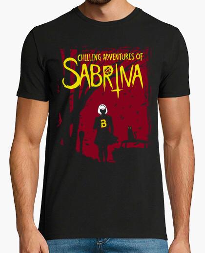 T-shirt adventure agghiaccianti of sabrina