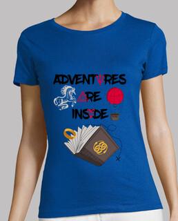 Adventures are inside books