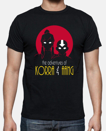 Adventures of Korra & Aang men shirt