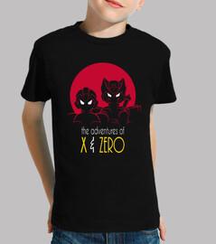 Adventures of X & Zero kid size