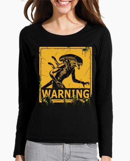Camiseta advertencia