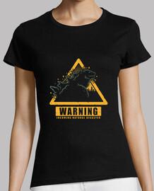 advertencia de kaiju