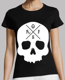 AF Skull white