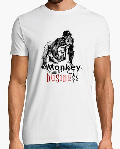 Tee-shirt affaires de singe