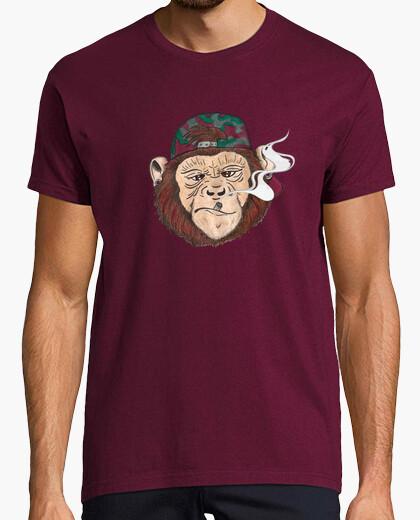 Tee-shirt affaires de singe.