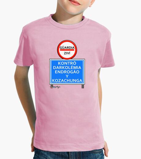 Vêtements enfant affiche de contrôle gc