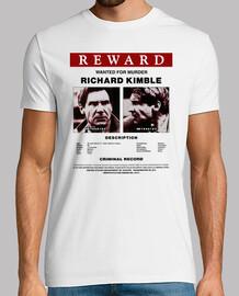 Affiche Voulue Richard Kimble (El Fugitivo)
