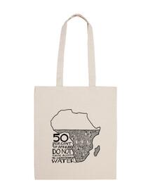 África sin Agua - Bolso