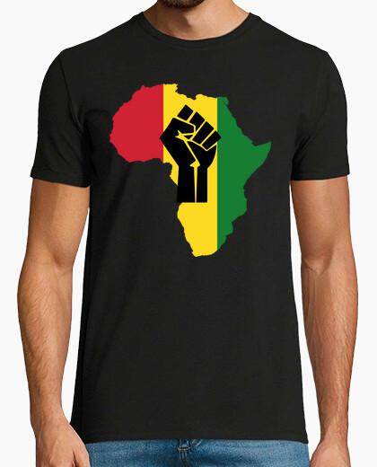 Tee-shirt Afrique Révolution Rasta