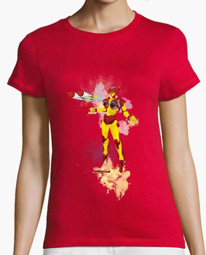 Camiseta Afrodita, pechos fuera