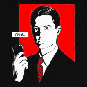 Tee-shirts Agent Cooper (Twin Peaks)