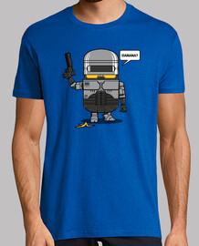 agente de la ley despreciable para hombre camiseta
