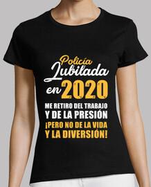 agente di polizia in pensione nel 2020