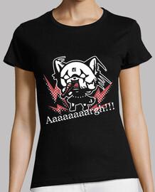 Aggretsuko la panda super mona del Deat
