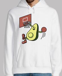 aguacate jugando baloncesto