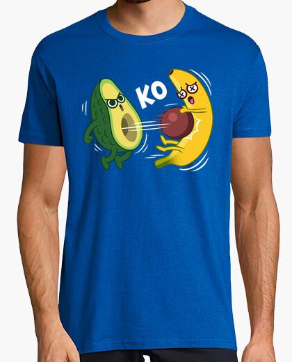 Camiseta Aguacate VS Platano