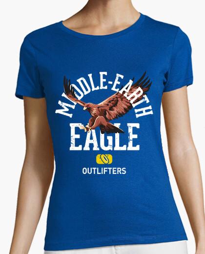 Camiseta águila-tierra media (señor de los anillos)