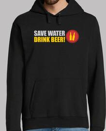 ahorra agua bebe cerveza