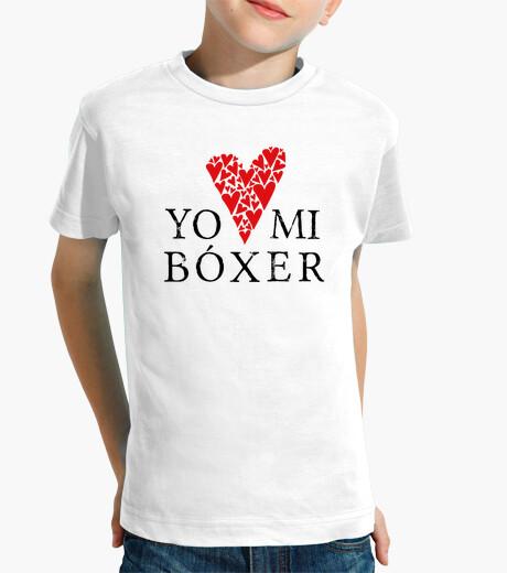 Vêtements enfant aime mon boxer