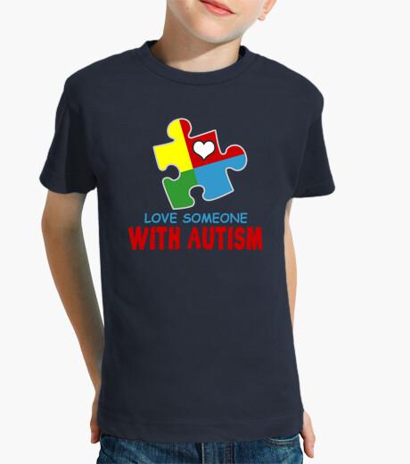 Vêtements enfant aime quelqu'un avec l'autisme