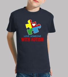 aime quelqu'un avec l'autisme