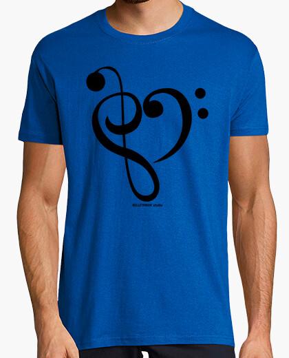 Tee-shirt aimer re mi / cou long bec