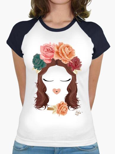 Tee-shirt aimer visage et tiare