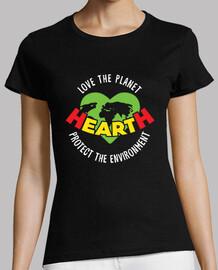 aimez la planète protégez  l'environnement